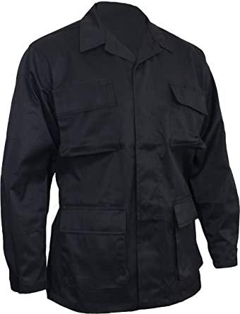 Black BDU Combat Shirt-New