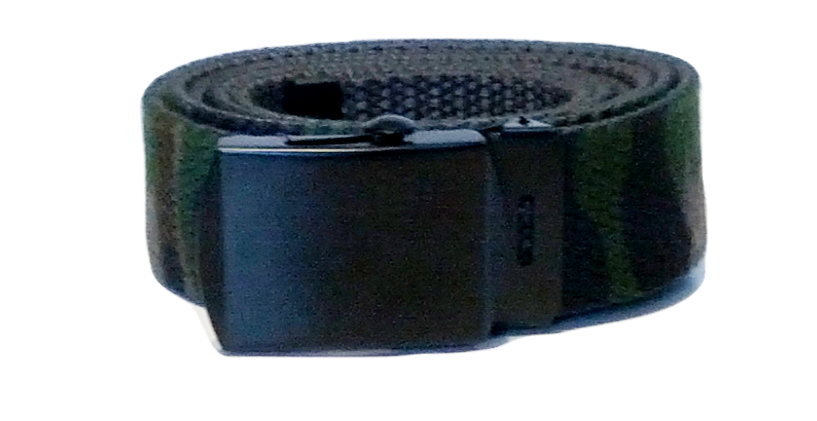 US Army Woodland Canvas Style Belt