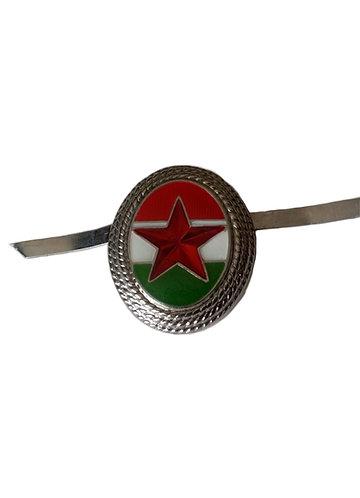 Hungarian Soviet Military Hat Badge