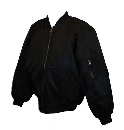 Black MA1 Aviator Jacket