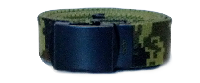 US Army Canadian Digital Canvas Style Belt