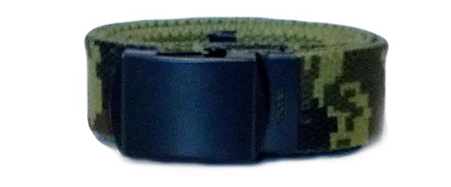 US Army Canadian Digital Canvas Style Belt