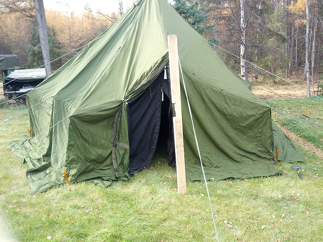 Canadian Army Surplus complete 10 Man Arctic Tent *FREE SHIPPING*