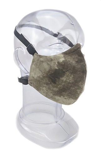 Reusable ATAC-AU 2 or 3 Ply Fabric Face Mask