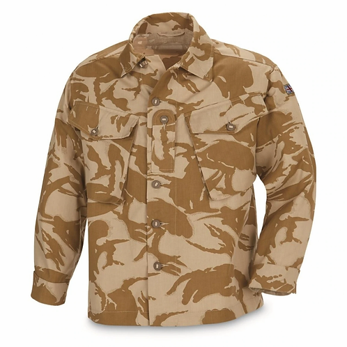 British Army Surplus Desert DPM Combat Shirt