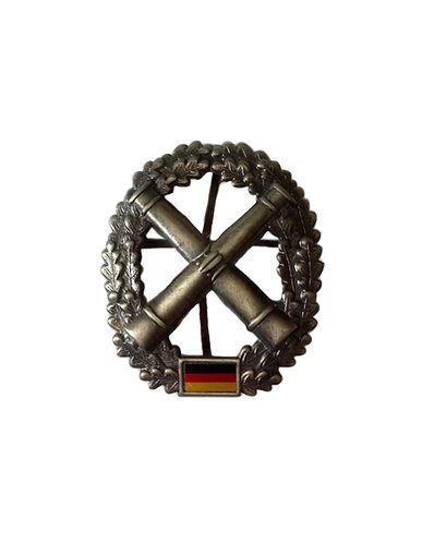 West German Artillery X Cannons Hat Badge
