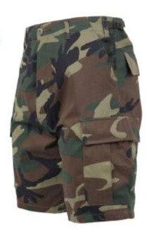 Woodland Camo Shorts-New
