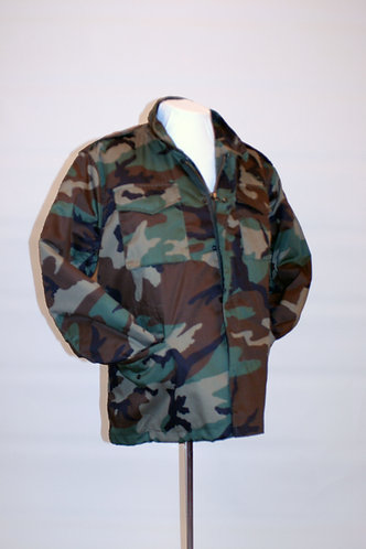 Woodland Camo M65 Cold Weather Field Jacket