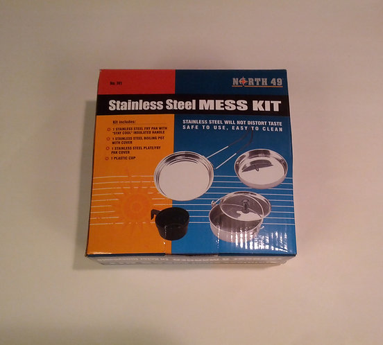 North 49 Stainless Steel Mess Kit