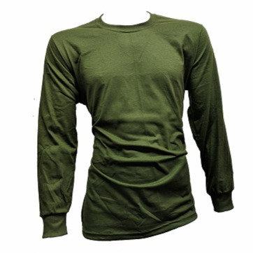 Olive Drab Long Sleeve T-Shirt