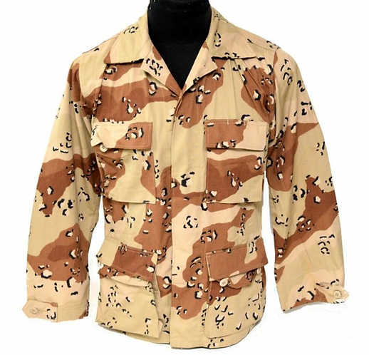 US Army Surplus 6 Color Desert Combat Shirt