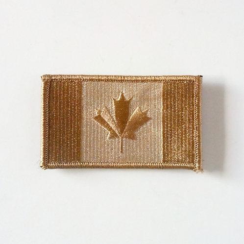 Canadian Desert Velcro Flag Patch-Large