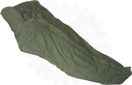 US Army surplus Intermediate Cold Weather Sleeping Bag (Good Condition)