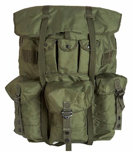 US Army Surplus Large Alice Pack-Used Complete