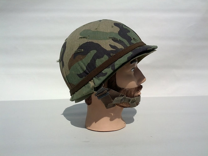 US Army Surplus M1 Helmet w/ Woodland Cover