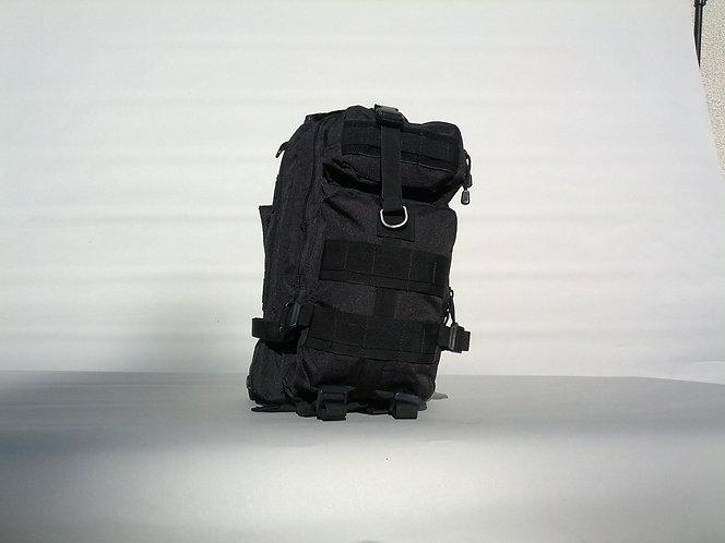 Black 25L Tri-Strap Assault Pack
