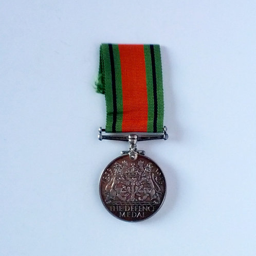 Canadian WWII Defence Medal