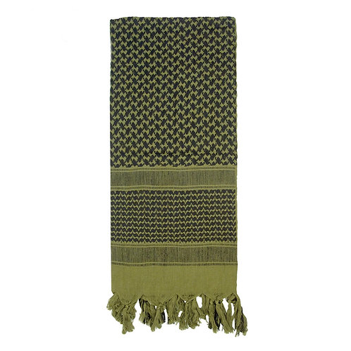 Olive Drab/Black Shemagh