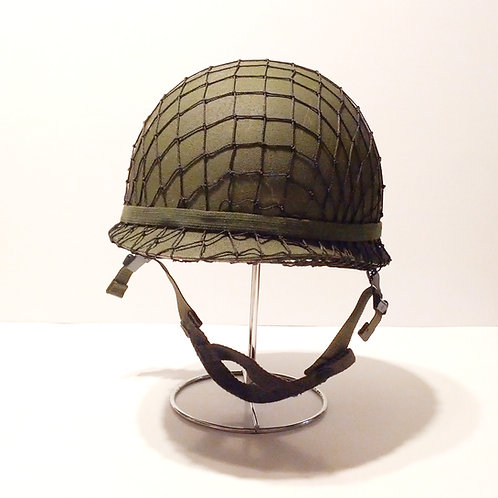 US Army Surplus M1 Helmet With Scrim Net