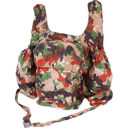 Swiss Army Surplus Alpenflage M70 Backpack with Shoulder Straps