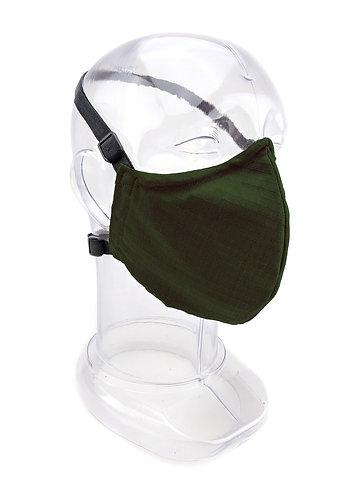 Reusable Ranger Green 2 or 3 Ply Fabric Face Mask
