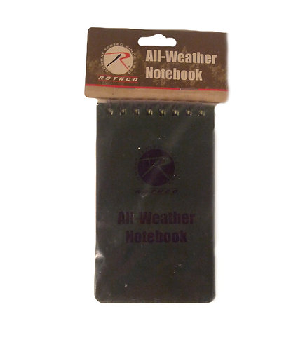 """Rothco 3x5"""" All-Weather Notebook"""