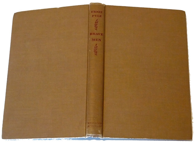 "Vintage Hardcover Book ""Brave Men"" by Ernie Pyle"