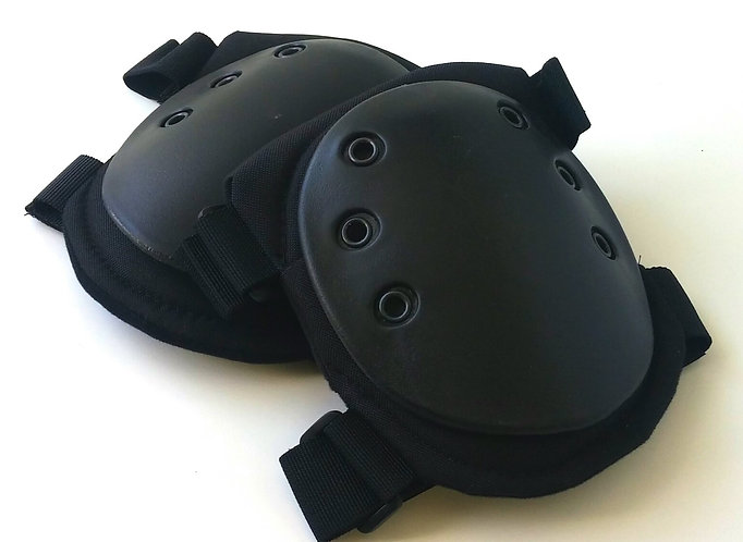 Black Tactical Knee Pads-New