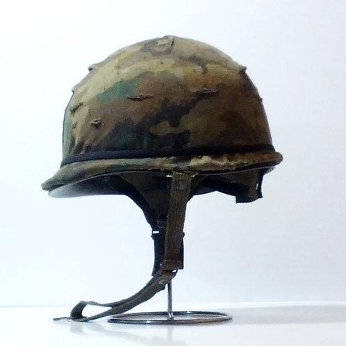 Spanish Army M65 Helmet W/Cover