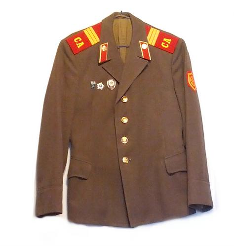 Soviet Army Officer's Uniform Jacket