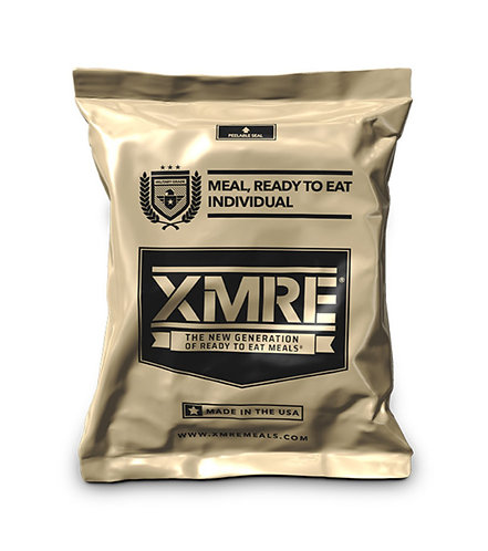 XMRE Meal Ready To Eat-Extended Shelf Life