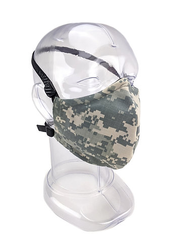 Reusable ACU Digital 2 or 3 Ply Fabric Face Mask