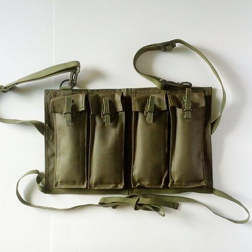 Canadian Army Surplus FN Heavy Machine Gun 4 Mag Pouch/Chest Rig