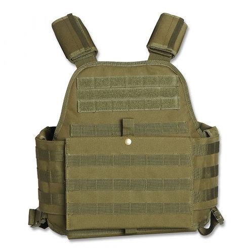 Mil-tec Olive Drab Plate Carrier Vest-New