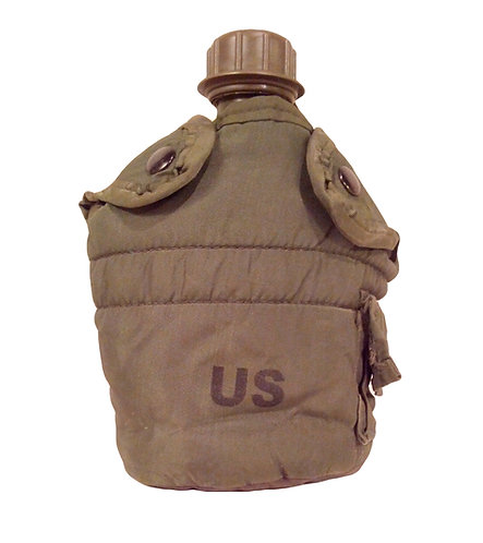 US Army Surplus OD Alice Clip Canteen Pouch
