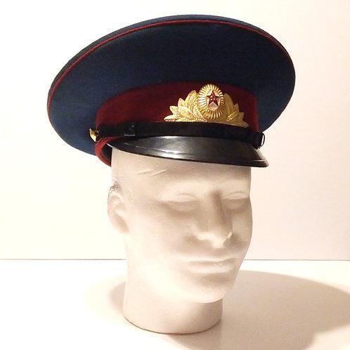 Soviet Kremlin Honour Guard Visor Cap