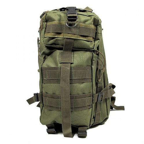 Olive Drab 25L Tri-Strap Assault Pack