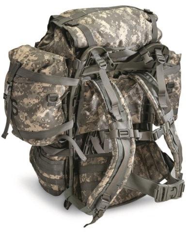 US Army Surplus ACU Large Molle II Rucksack /w Frame, Straps, Lumbar Strap*
