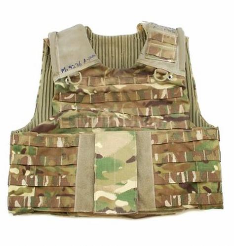 British Army MK3 Osprey Multicam Plate Carrier Vest only- No Kevlar