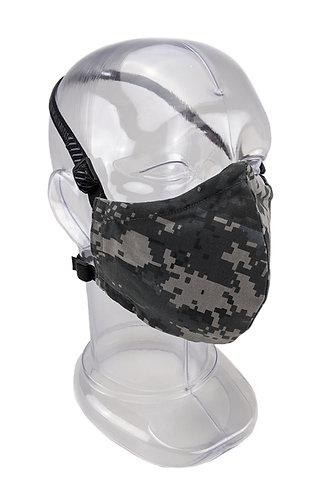 Reusable Night Urban Digital 2 or 3 Ply Fabric Face Mask