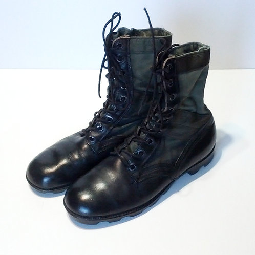US Army Surplus OD Jungle Boots-Vietnam Era