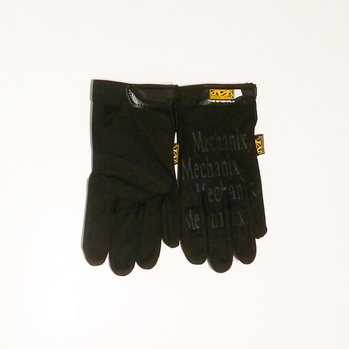 Black Mechanix Gloves