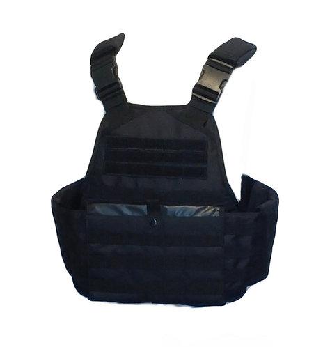 Black Plate Carrier Combat Vest