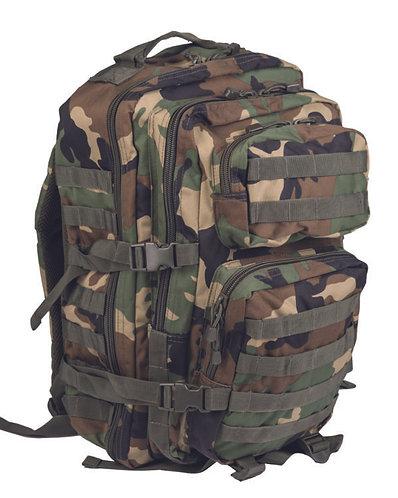 Woodland 35L Assault Pack