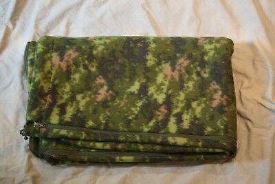 Canadian Digital Zippered Fleece Liner/Blanket-New