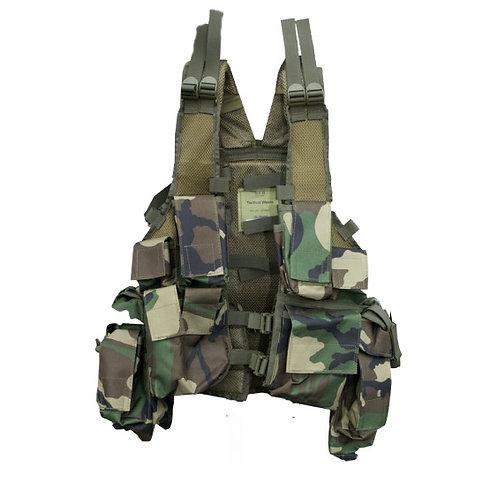 Woodland Tactical Vest