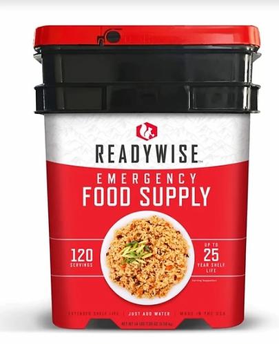 READYWISE 120 Servings of Emergency Food Supply