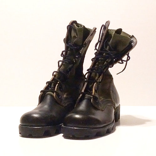 US Army Surplus OD Jungle Boots-Vietnam Era