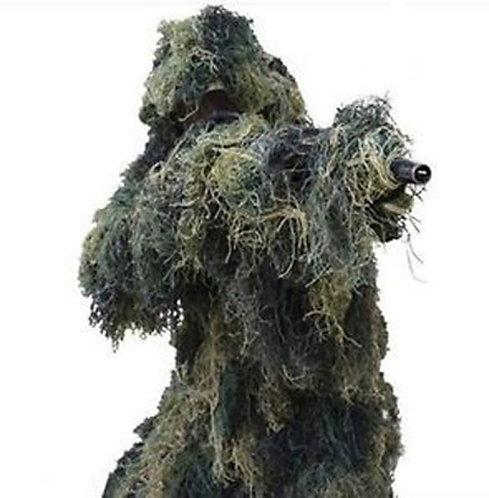 Digial Woodland Ghillie Suit