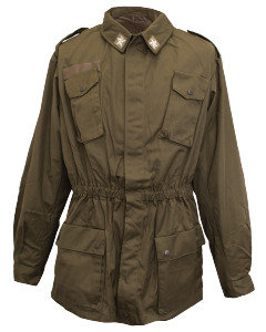 Italian Army Surplus WW2 Olive Drab Combat Shirt/Jacket